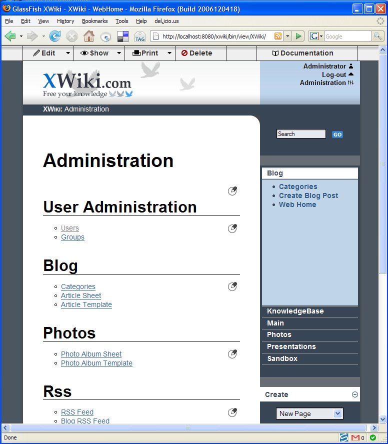 Welcome to XWiki